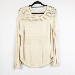 Knox Rose Cream Knit Sweater